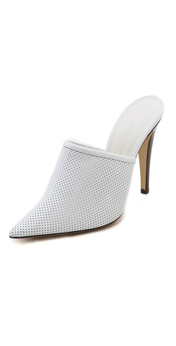 Jenni Kayne Perforated Pointed Toe Mules at Shopbop / East Dane