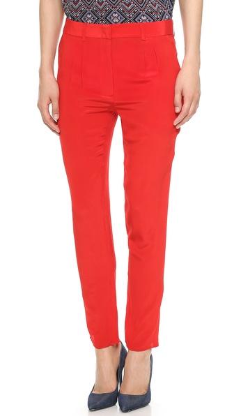 Jenni Kayne Pleated Silk Pants