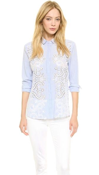 Jenni Kayne Hidden Placket Shirt