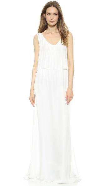 Jenni Kayne Shirred Tank Gown