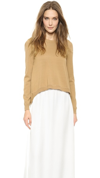 Jenni Kayne Open Back Sweater