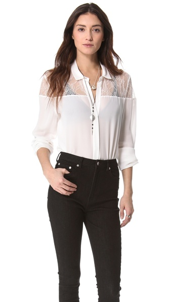 Jeunesse Delphine Tunic with Lace