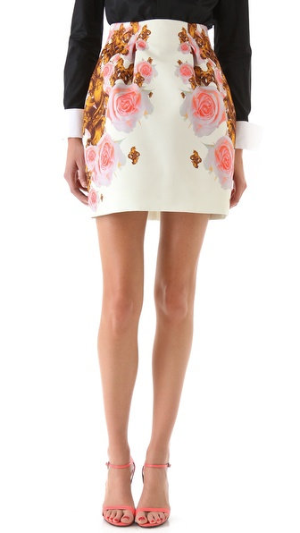 Josh Goot Mini Bell Skirt