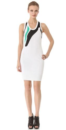 Josh Goot Intarsia Tank Dress