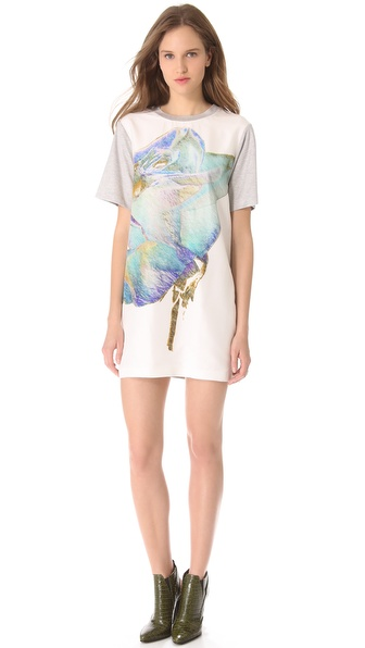 Josh Goot Mini Muscle Tee Dress