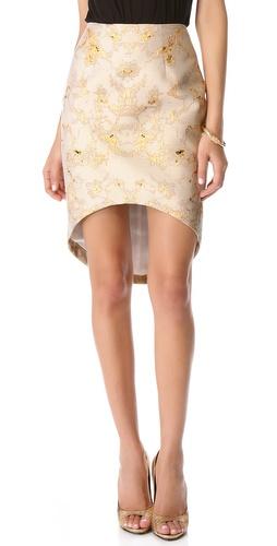 Josh Goot Symmetrical Cut Away Skirt