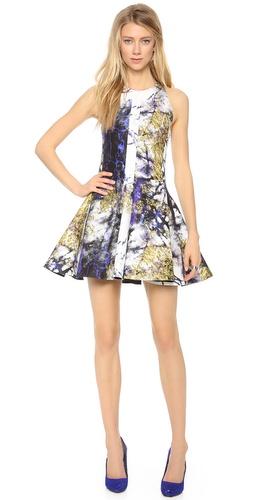 Josh Goot Flare Square Panel Dress