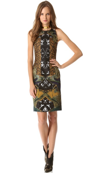 Josh Goot Raglan Cutaway Dress