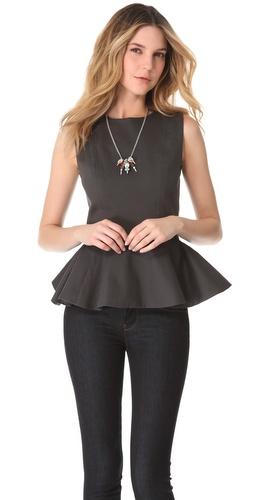 Kupi Julie Haus Novak Peplum Top i Julie Haus haljine online u Apparel, Womens, Tops, Blouse,  prodavnici online