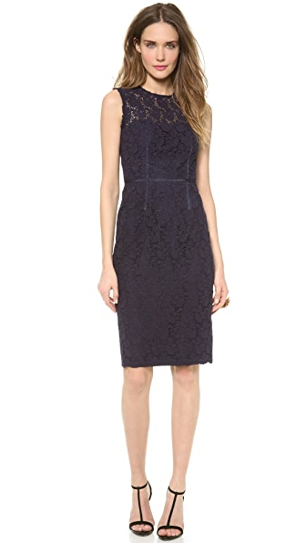 Jill Jill Stuart Lace Pencil Dress