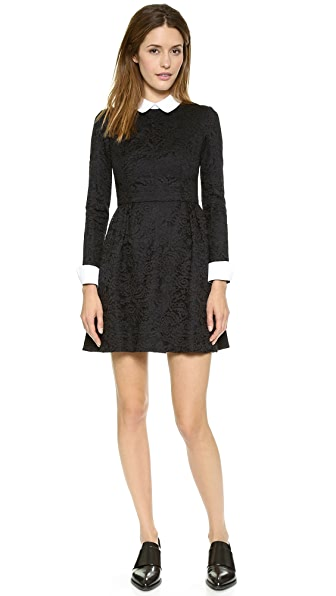Jill Jill Stuart Collared Lace Dress