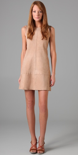 Jill Stuart Juliya Suede Dress
