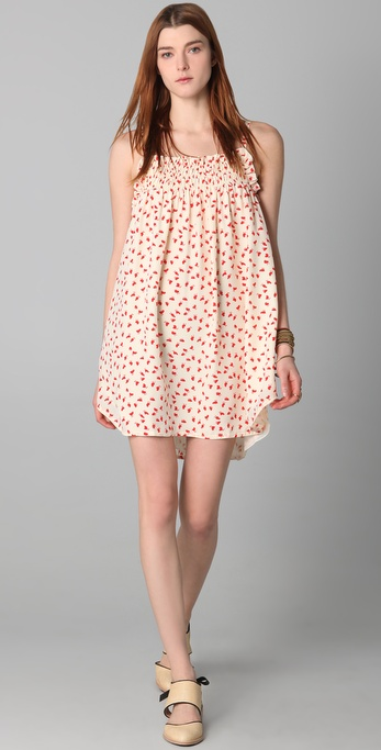 Jill Stuart Lynette Chickie Print Dress