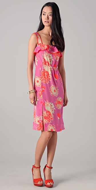 Jill Stuart Caressa Floral Dress