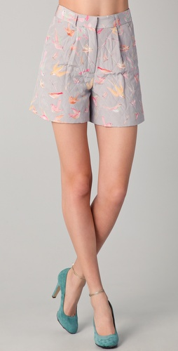 Jill Stuart Abelie Quilted Shorts