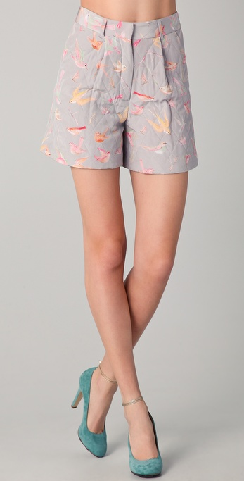 Jill Stuart Abelie Quilted Shorts