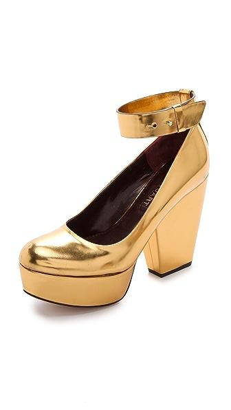 Jill Stuart Marlyn Wide Heel Pumps