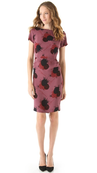 Jill Stuart Bonnie Slit Back Dress