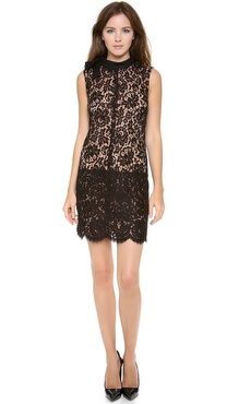 Jill Stuart Daphne Lace Dress