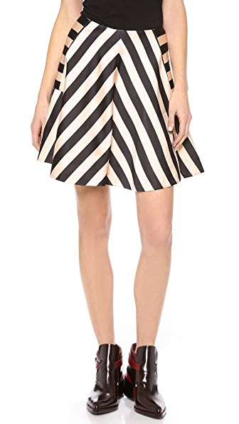 Jill Stuart Nikki Striped Skirt