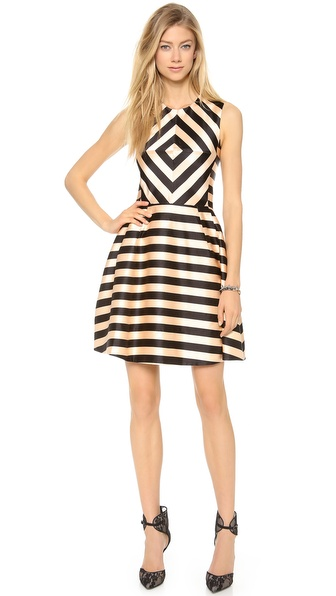 Jill Stuart Linda Striped Dress