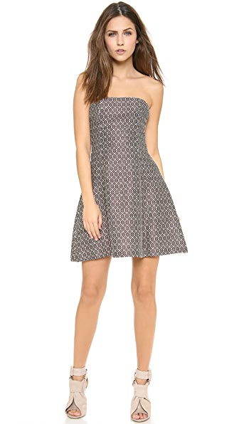 Jill Stuart Estela Strapless Dress