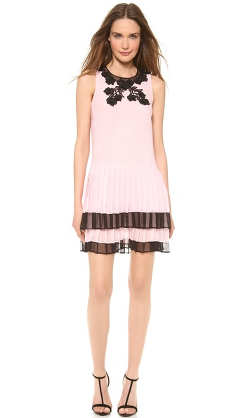 Jill Stuart Rina Pleated Dress