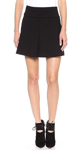 Jill Stuart Monique Front Pleat Skirt