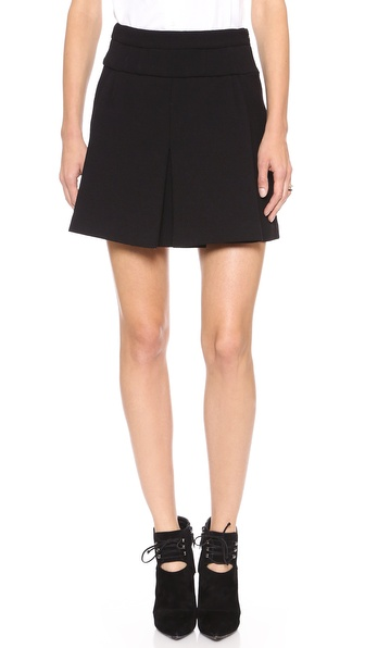 Jill Stuart Monique Front Pleat Skirt