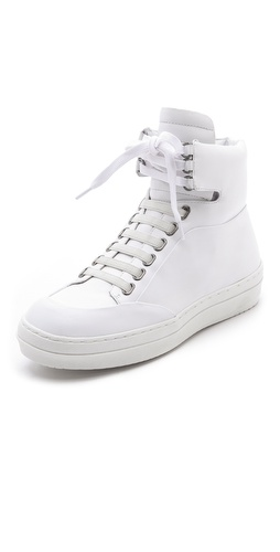 Jil Sander Navy Platform Rubber Sneaker at Shopbop / East Dane