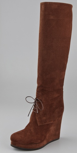 Jil Sander Field Wedge Boots