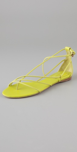 Jil Sander Tubular Sandals