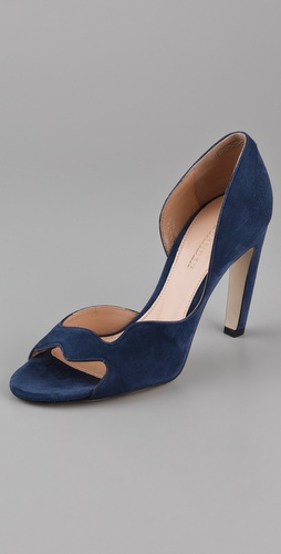 Jil Sander Open Toe Pumps