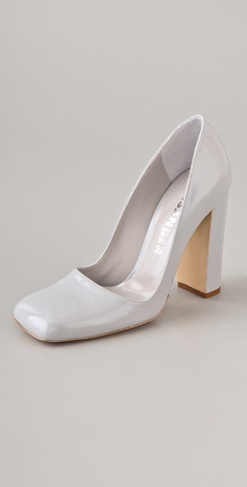 Jil Sander Patent Leather Pumps