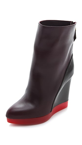Jil Sander Wedge Booties