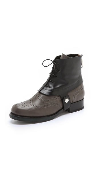 Jil Sander Leather Booties