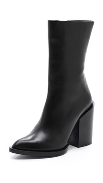 Jil Sander Side Zip Boots