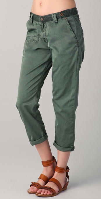 Jimmy Taverniti Boyfriend Chino Pants