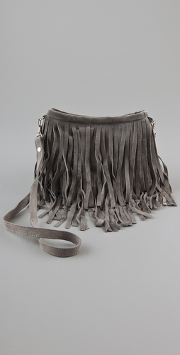 JJ Winters Small Fringe Bag