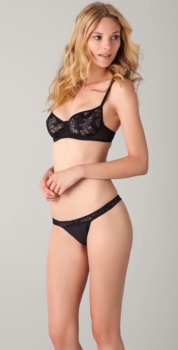 Jenna Leigh Aman Unlined Balconette Bra