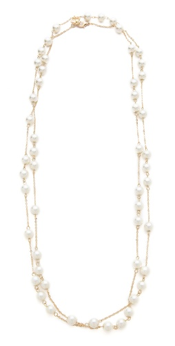 Juliet & Company Long Pearl Wrap Necklace