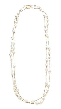 Juliet & Company Imitation Pearl Wrap Necklace