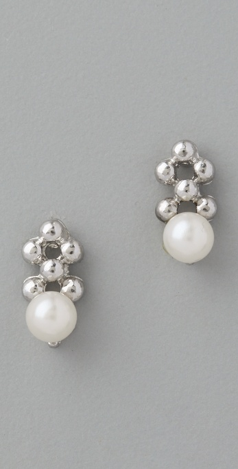 Juliet & Company Petit Pearl Bead Earrings