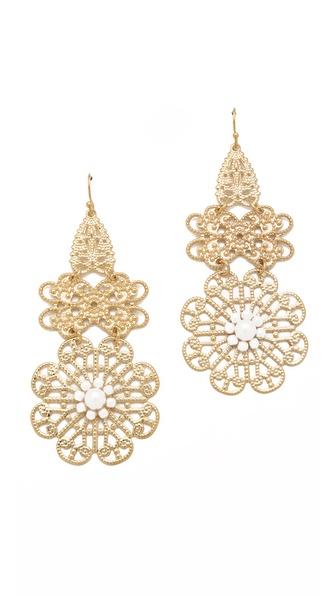 Juliet & Company Soleil Pearl Earrings