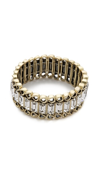 Juliet & Company Baguette Stretch Bracelet