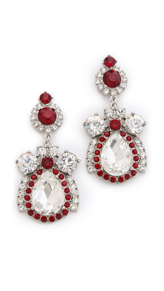 Juliet & Company Roses Rouges Earrings