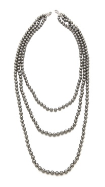 Juliet & Company Triple Strand Necklace