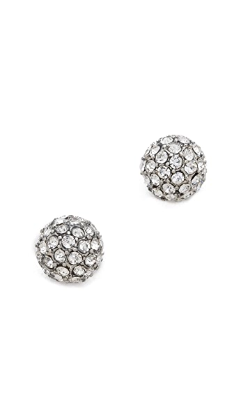 Juliet & Company Pave Crystal Earrings