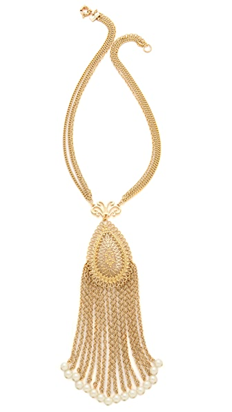 Juliet & Company Grand Tassel Necklace