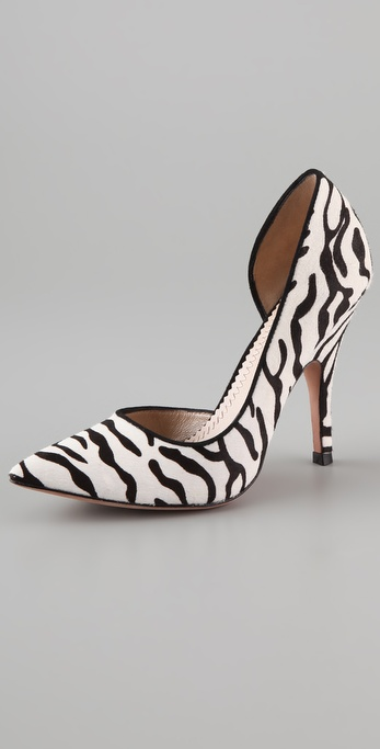 Jean-Michel Cazabat Ivanka Haircalf Pumps